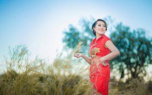 beautiful Chinese woman