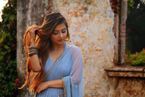 tender Bangladeshi woman