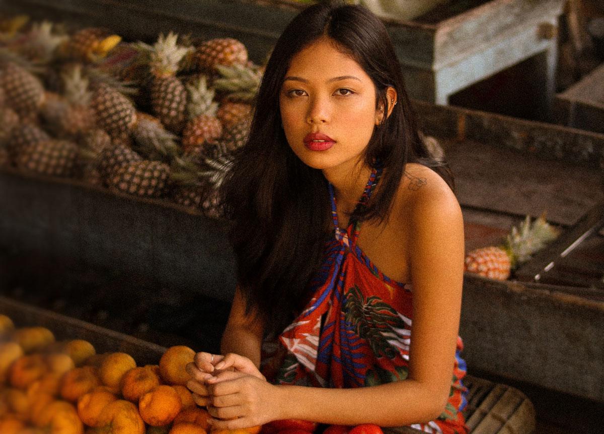 charming Laotian woman