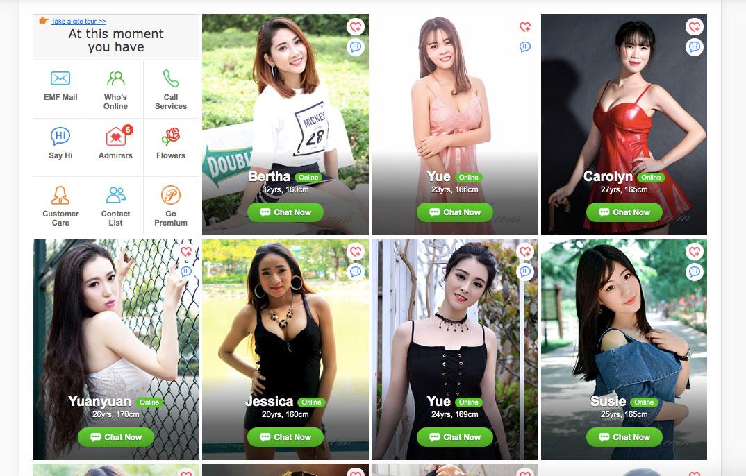 FindAsianBeauty women profiles
